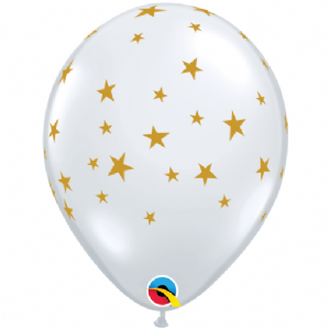 Contempo Stars Balloons (Clear) | Free Delivery Available